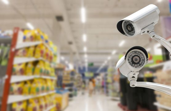 Commercial surveillance camera